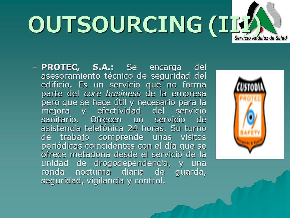OUTSOURCING (III)