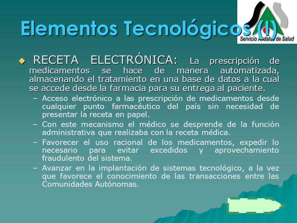 Elementos Tecnológicos (I)
