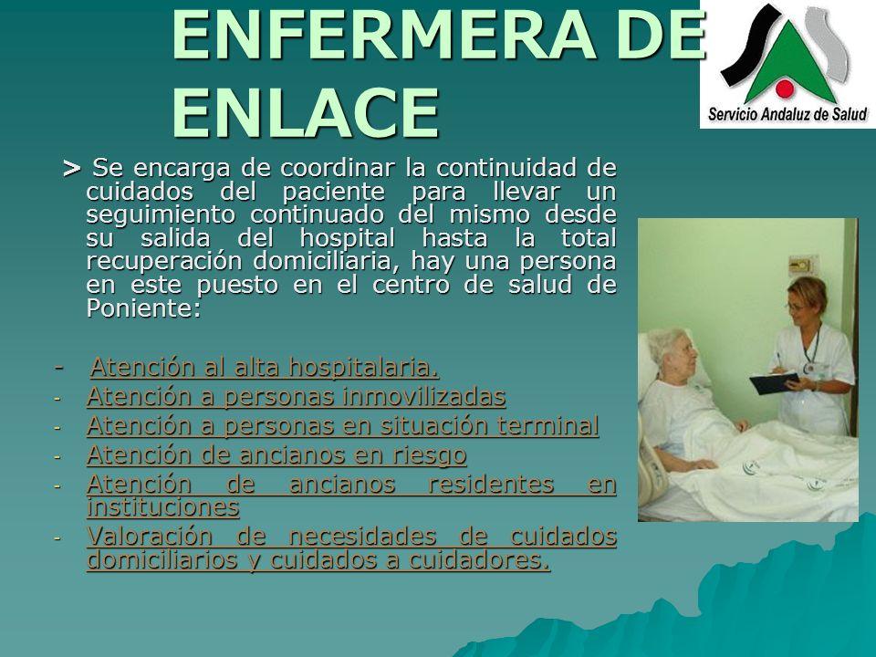 ENFERMERA DE ENLACE