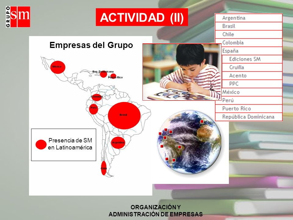 Presencia de SM en Latinoamérica