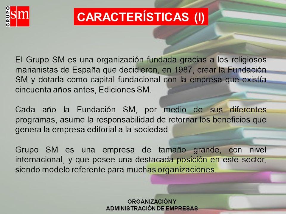 CARACTERÍSTICAS (I)