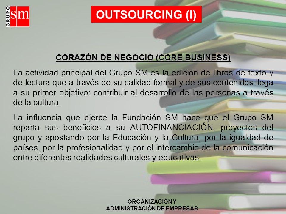CORAZÓN DE NEGOCIO (CORE BUSINESS)