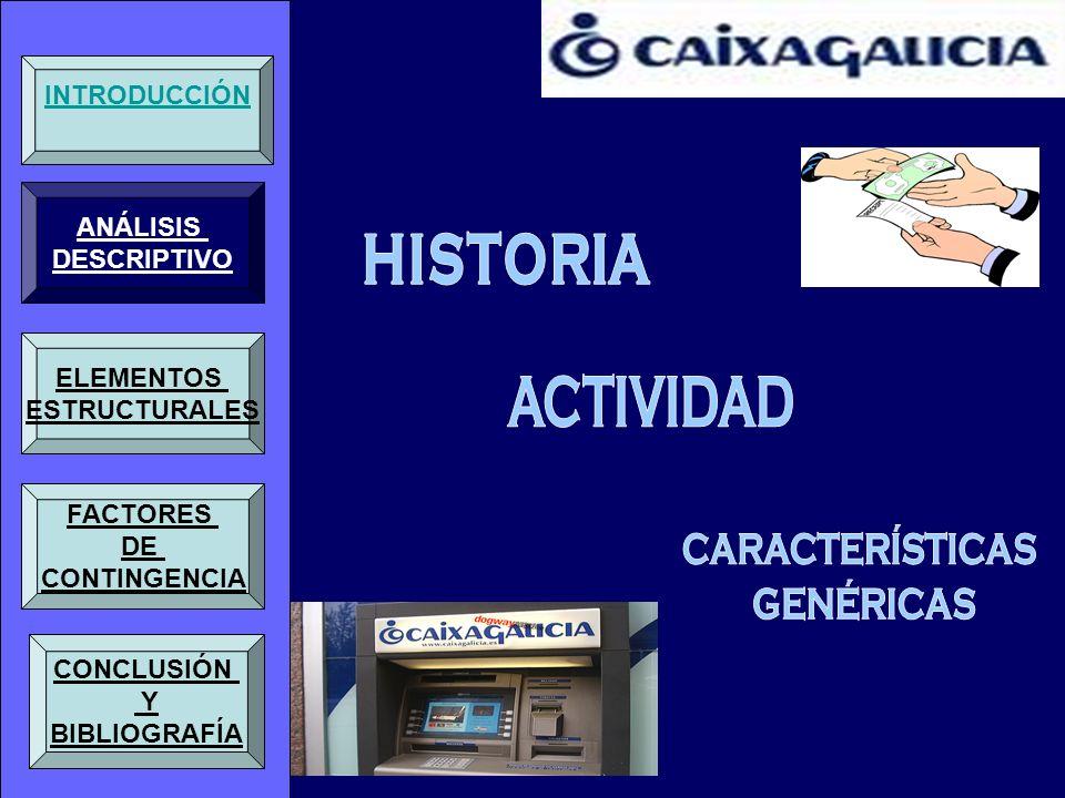 INTRODUCCIÓN ANÁLISIS DESCRIPTIVO ELEMENTOS ESTRUCTURALES FACTORES DE