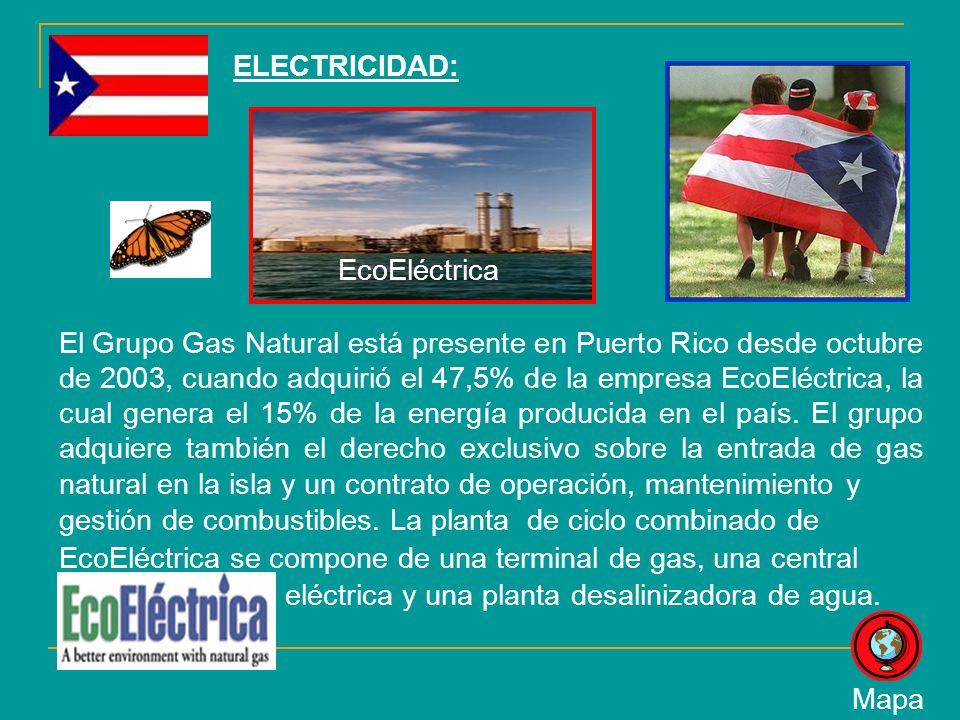 ELECTRICIDAD: EcoEléctrica.