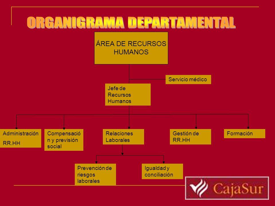 ORGANIGRAMA DEPARTAMENTAL