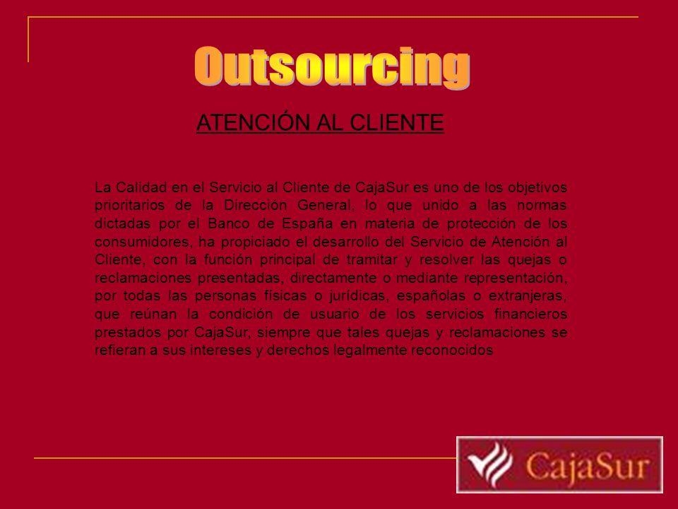 Outsourcing ATENCIÓN AL CLIENTE