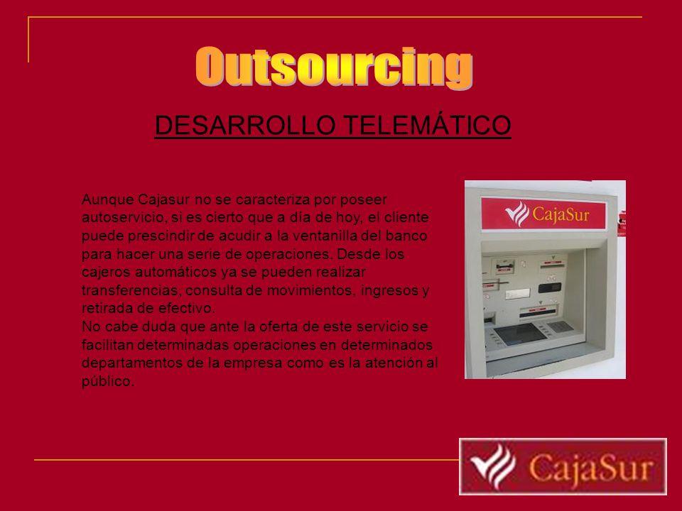 Outsourcing DESARROLLO TELEMÁTICO