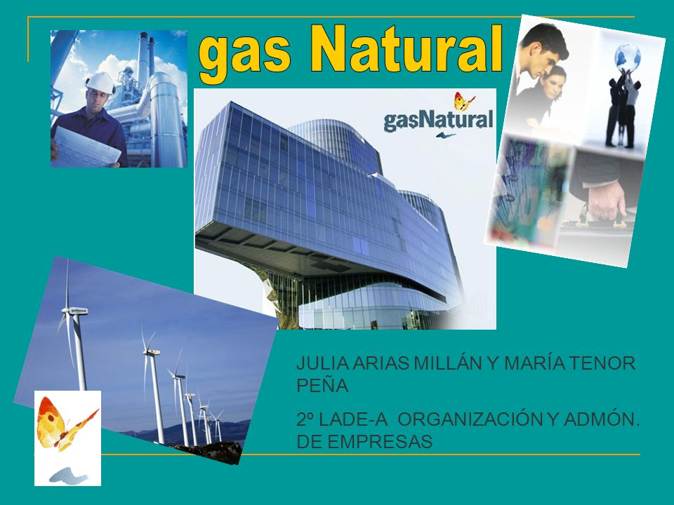gas Natural JULIA ARIAS MILLÁN Y MARÍA TENOR PEÑA