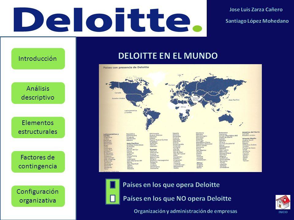Países en los que opera Deloitte Países en los que NO opera Deloitte