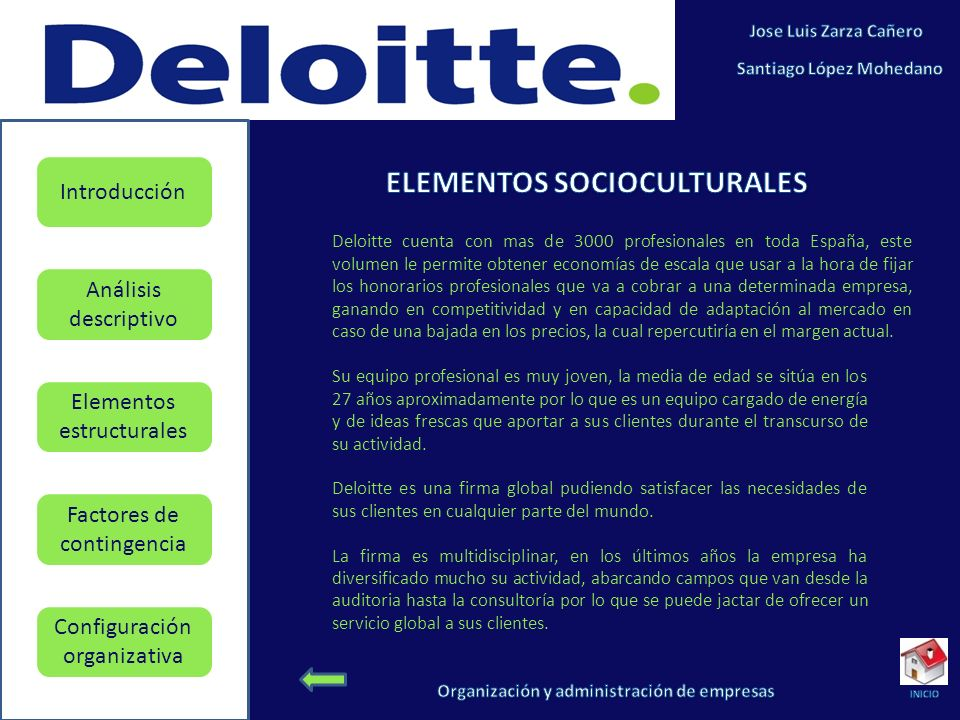 ELEMENTOS SOCIOCULTURALES