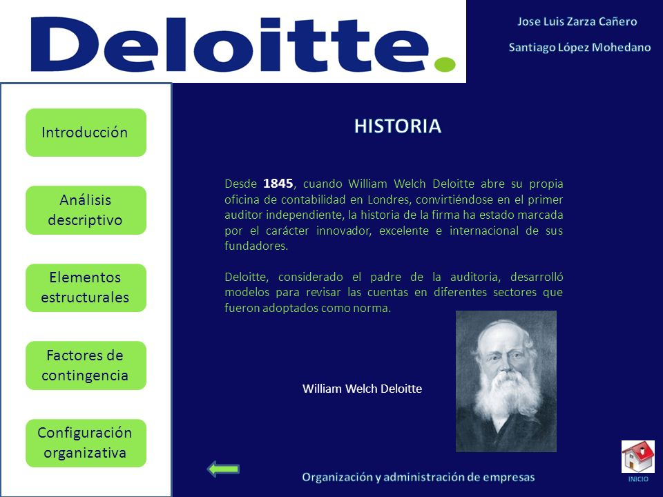 William Welch Deloitte