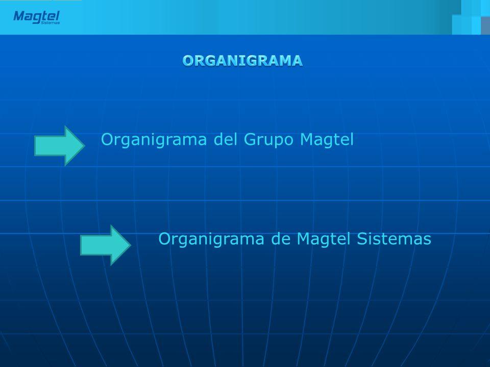 Organigrama del Grupo Magtel