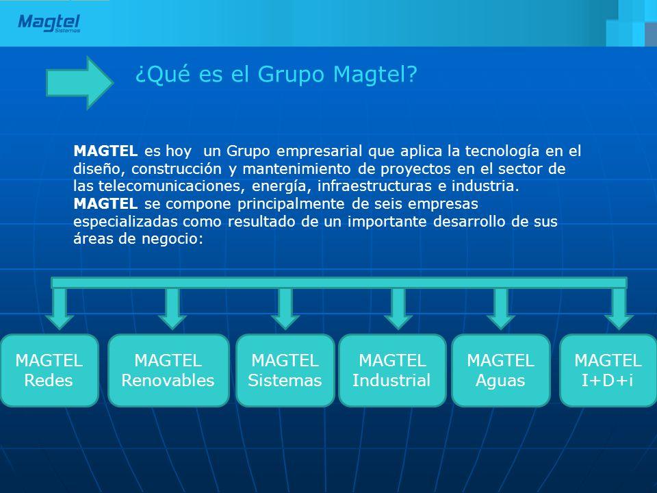 ¿Qué es el Grupo Magtel MAGTEL Redes MAGTEL Renovables MAGTEL