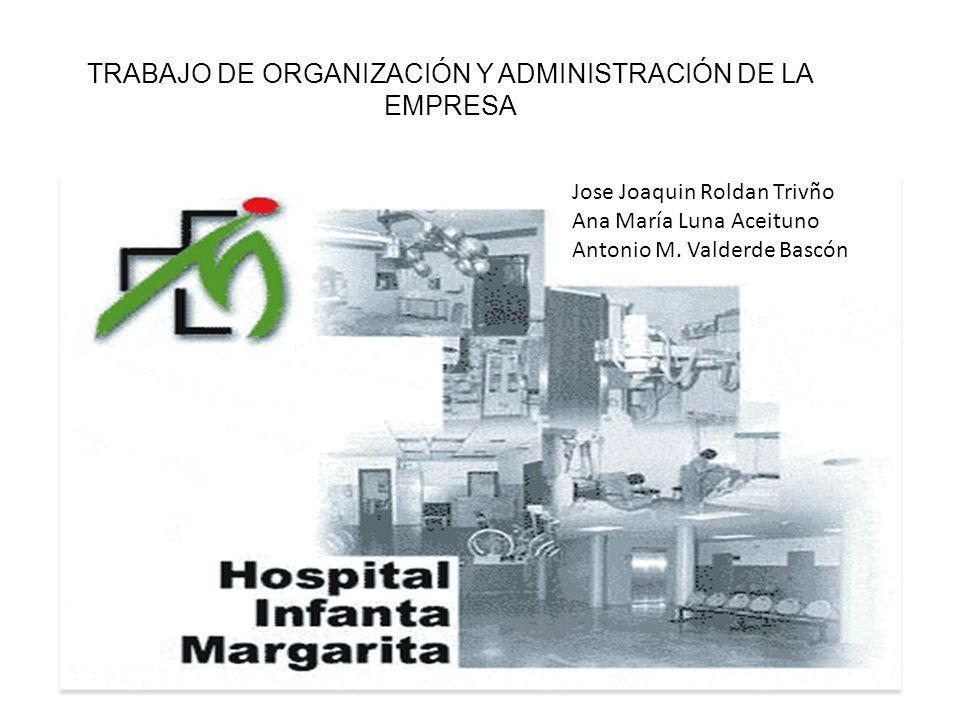 TRABAJO DE ORGANIZACIÓN Y ADMINISTRACIÓN DE LA EMPRESA