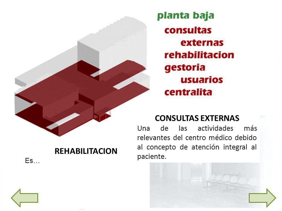 CONSULTAS EXTERNAS REHABILITACION