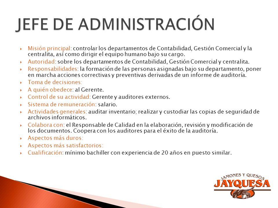 JEFE DE ADMINISTRACIÓN