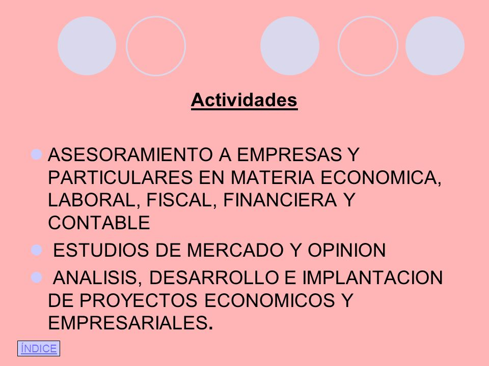 ESTUDIOS DE MERCADO Y OPINION