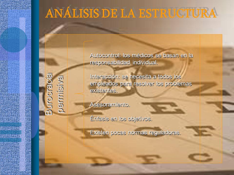ANÁLISIS DE LA ESTRUCTURA