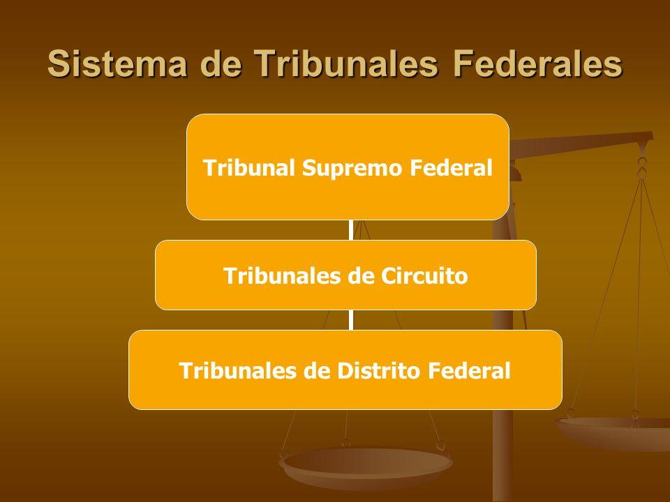 Sistema de Tribunales Federales