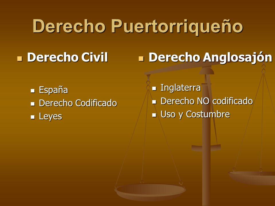 Derecho Puertorriqueño