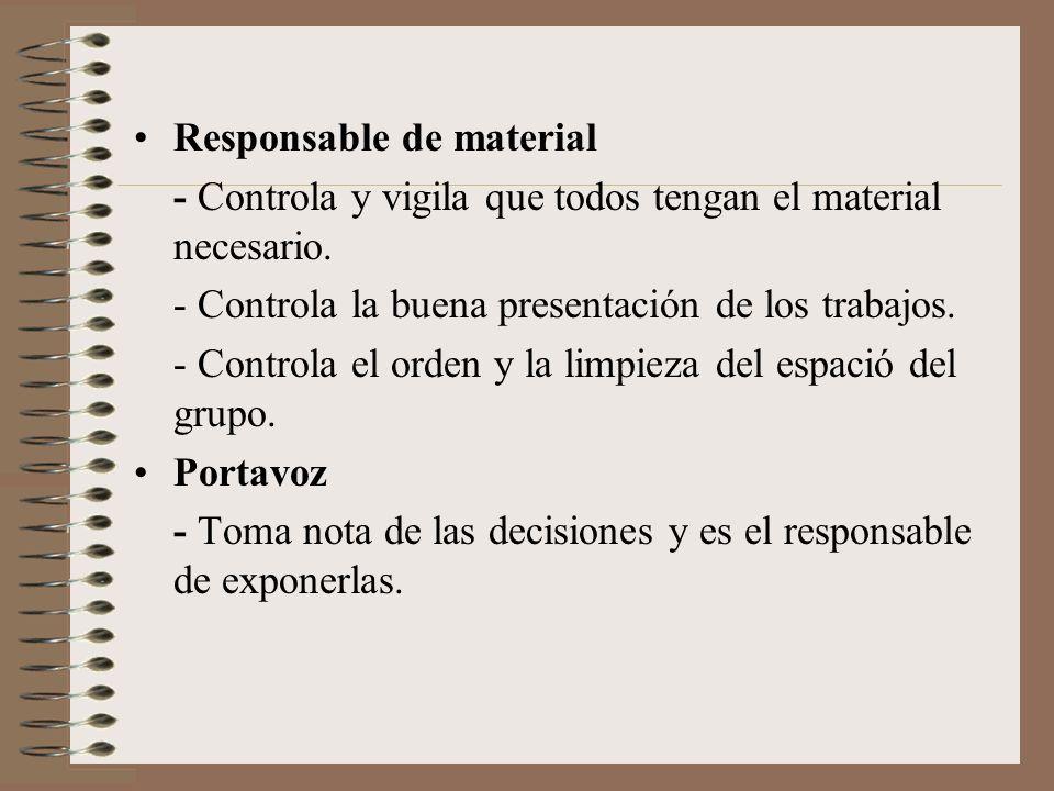 Responsable de material