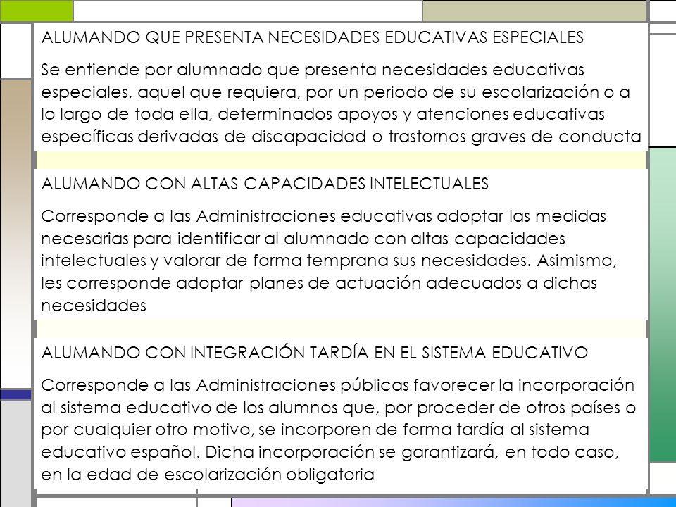 ALUMANDO QUE PRESENTA NECESIDADES EDUCATIVAS ESPECIALES