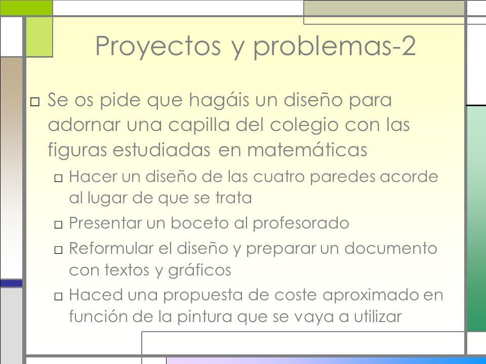 Proyectos y problemas-2