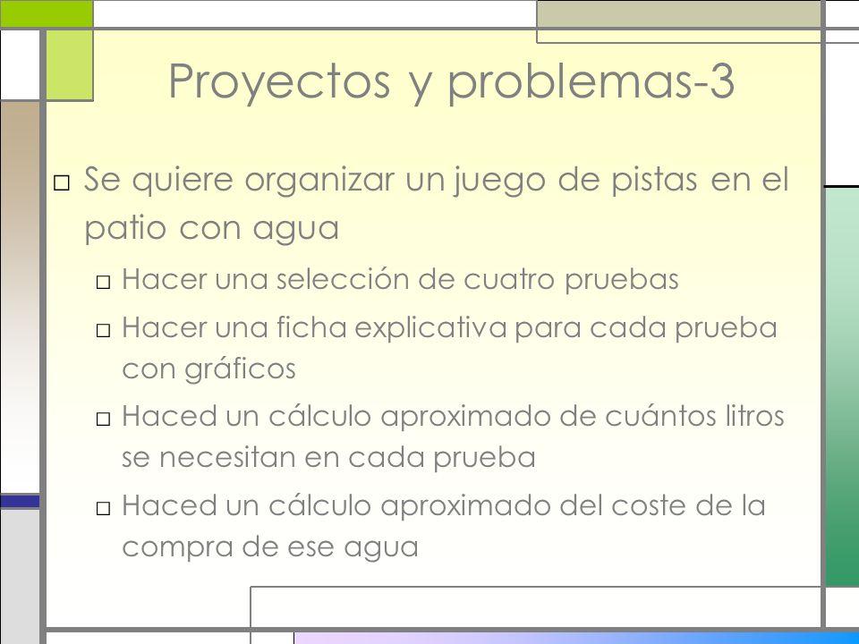 Proyectos y problemas-3