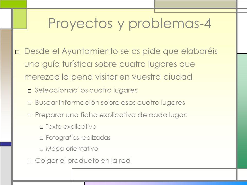 Proyectos y problemas-4