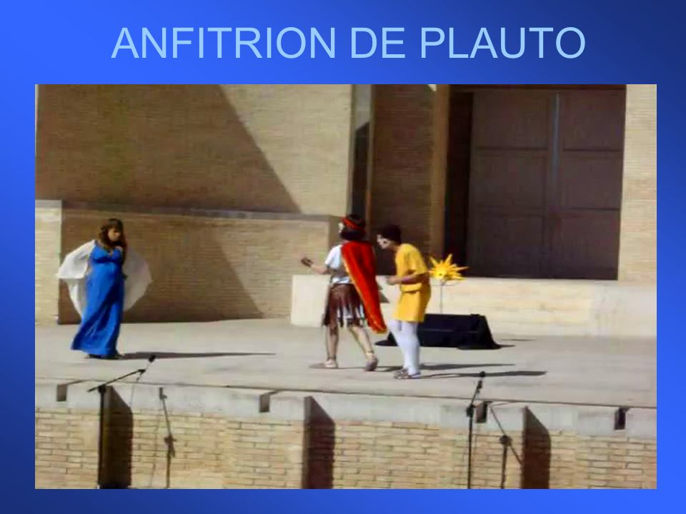 ANFITRION DE PLAUTO