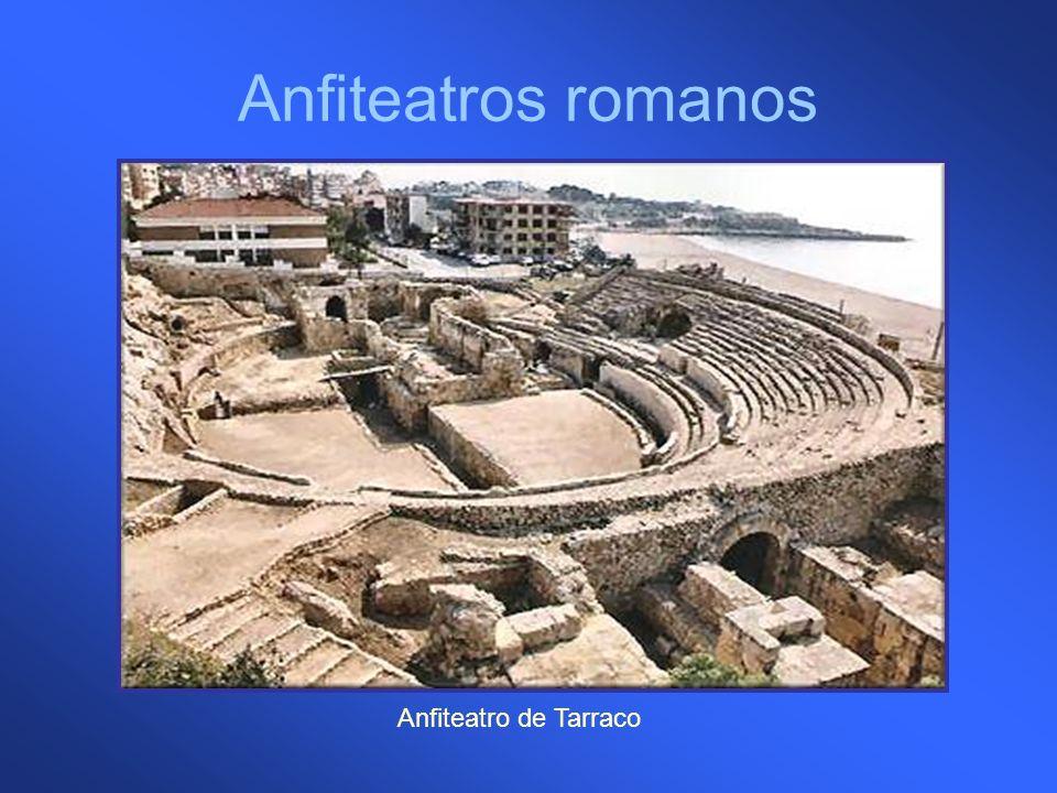 Anfiteatros romanos Anfiteatro de Tarraco