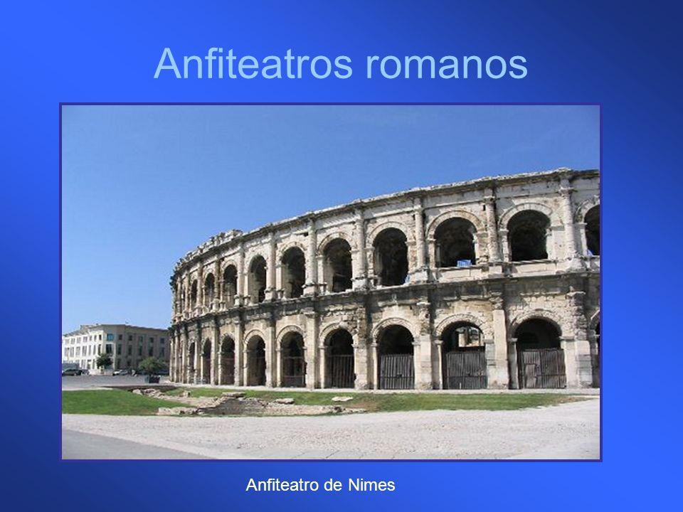 Anfiteatros romanos Anfiteatro de Nimes