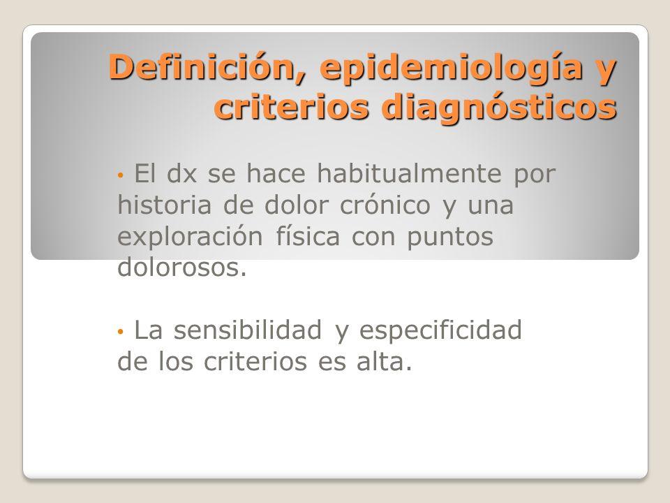 Definición, epidemiología y criterios diagnósticos