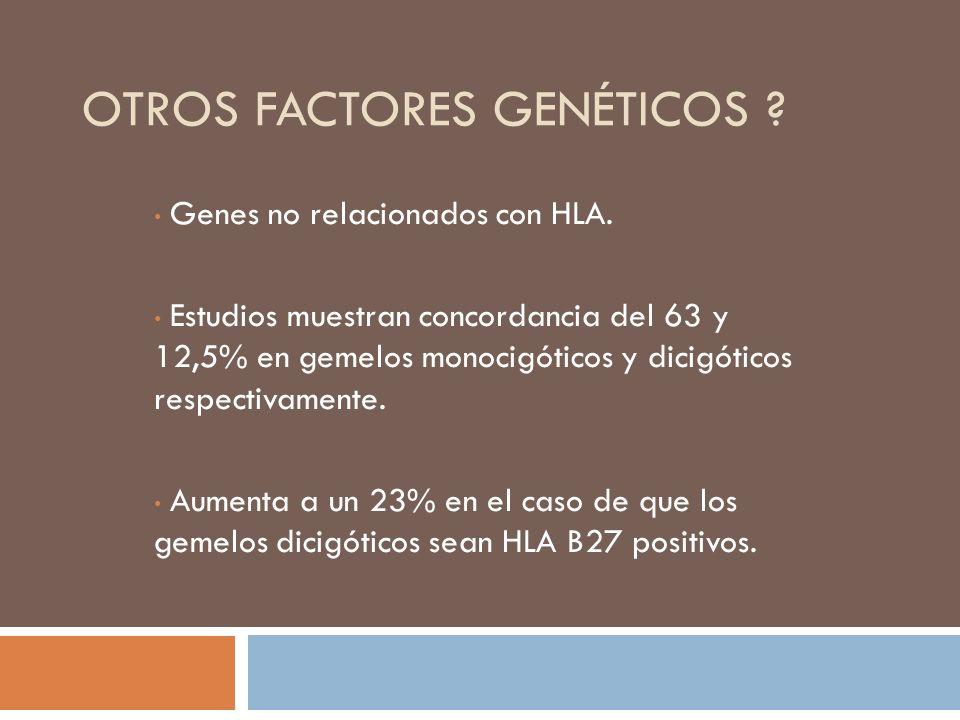 Otros factores genéticos
