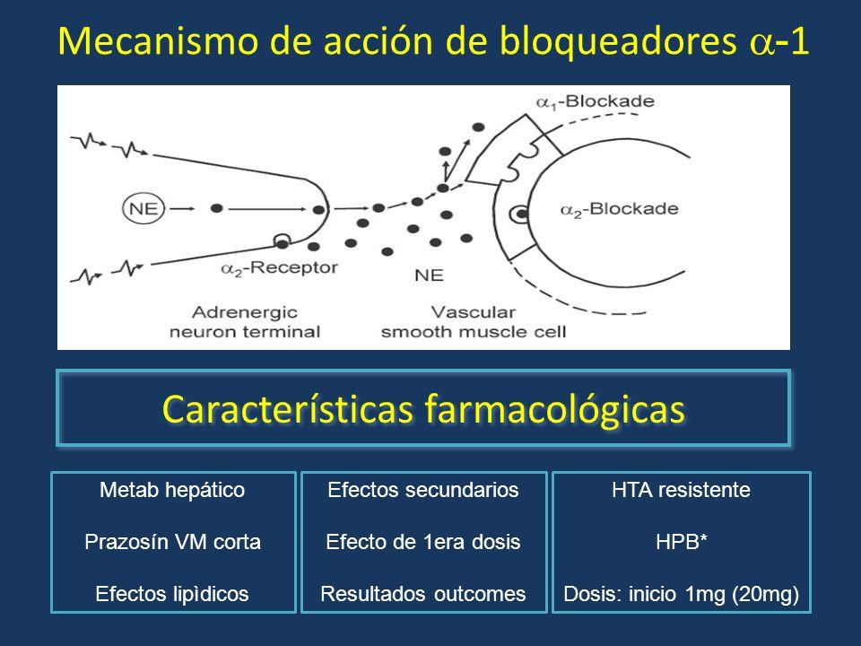 Mecanismo de acción de bloqueadores -1