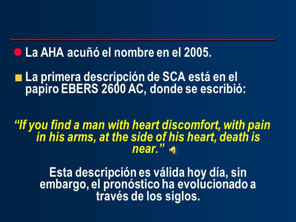 La AHA acuñó el nombre en el 2005.