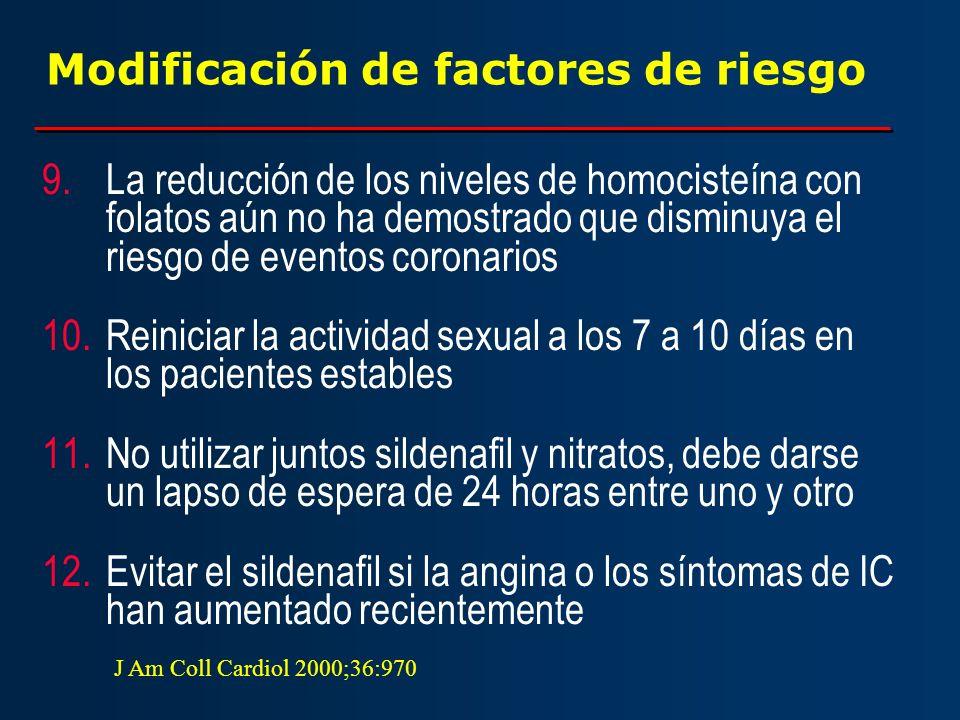 Modificación de factores de riesgo