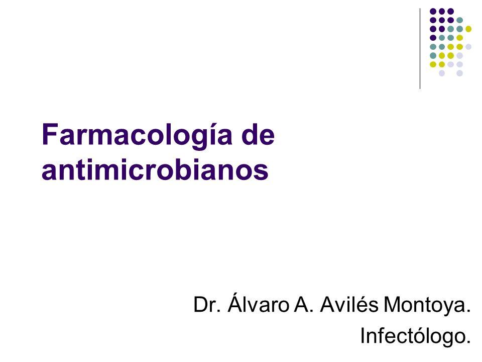 Farmacología de antimicrobianos