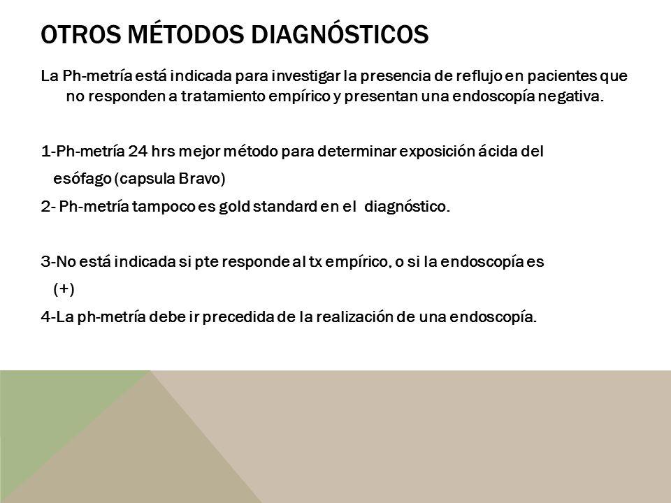 Otros métodos diagnósticos