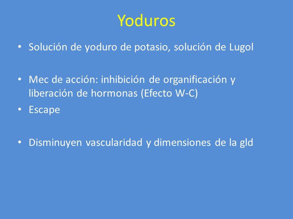 Yoduros Solución de yoduro de potasio, solución de Lugol
