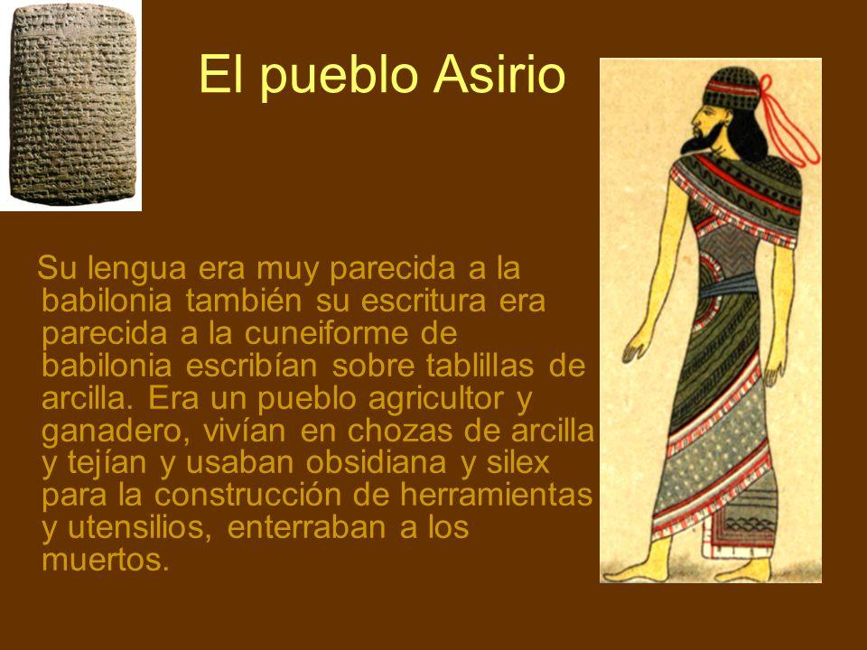 El pueblo Asirio