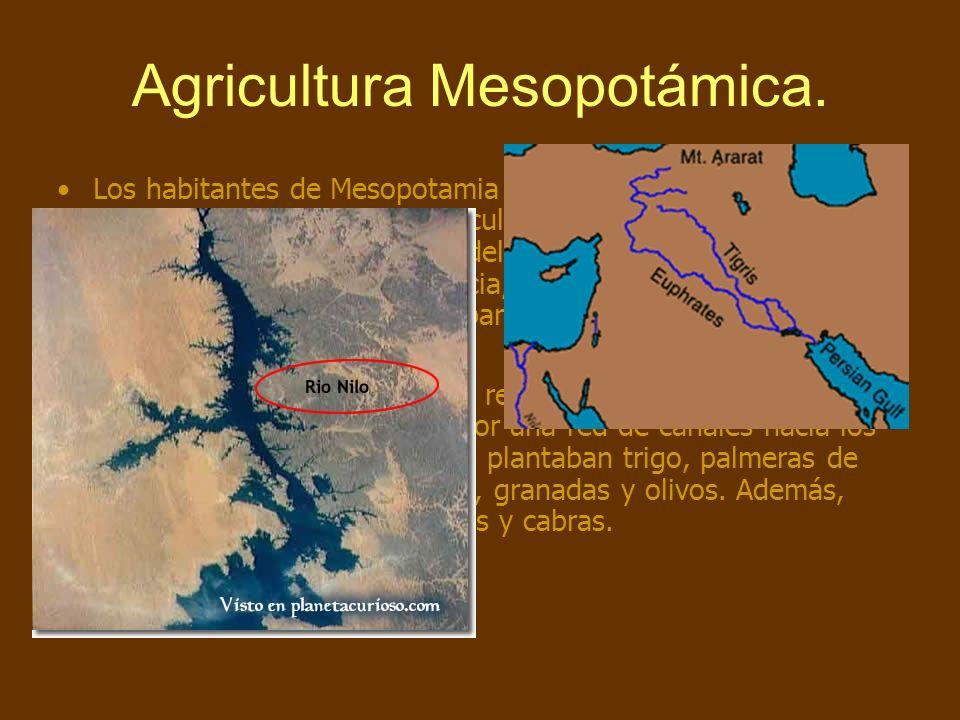 Agricultura Mesopotámica.