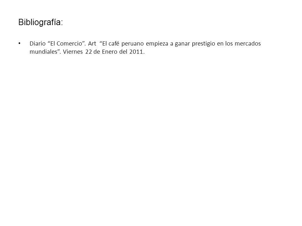 Bibliografía: Diario El Comercio .