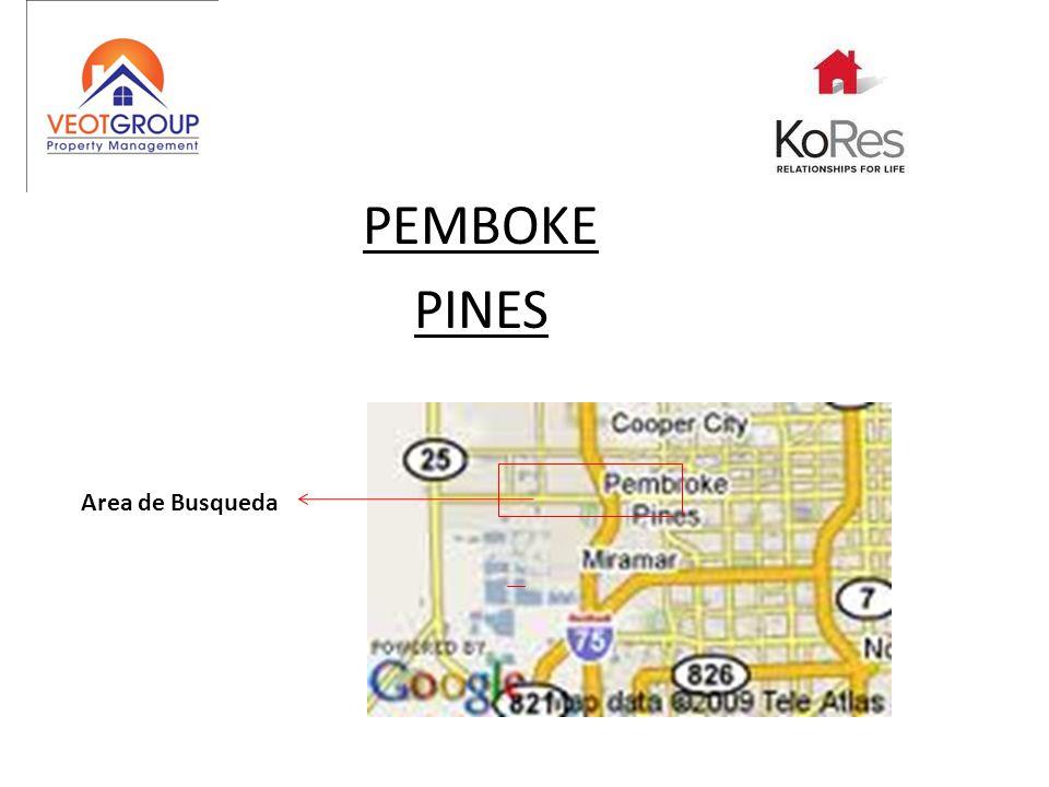 PEMBOKE PINES Area de Busqueda
