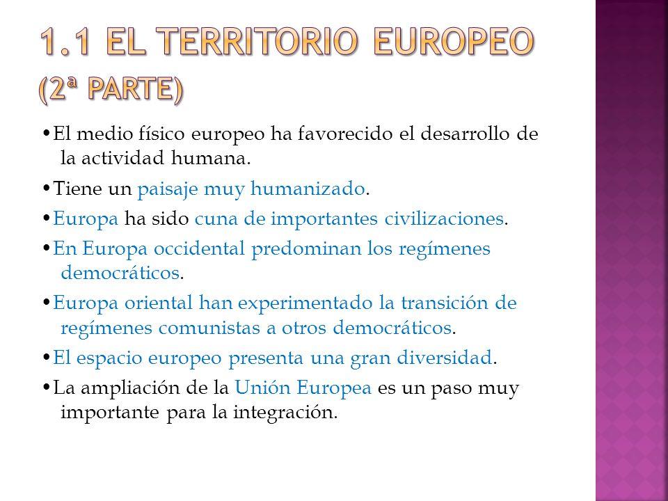 1.1 EL TERRITORIO EUROPEO (2ª parte)