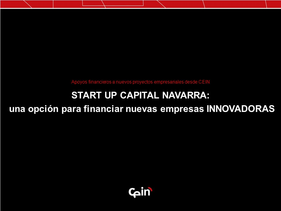START UP CAPITAL NAVARRA: