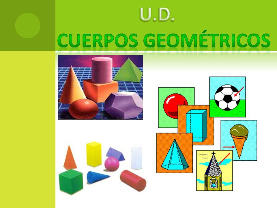 U.D. CUERPOS GEOMÉTRICOS
