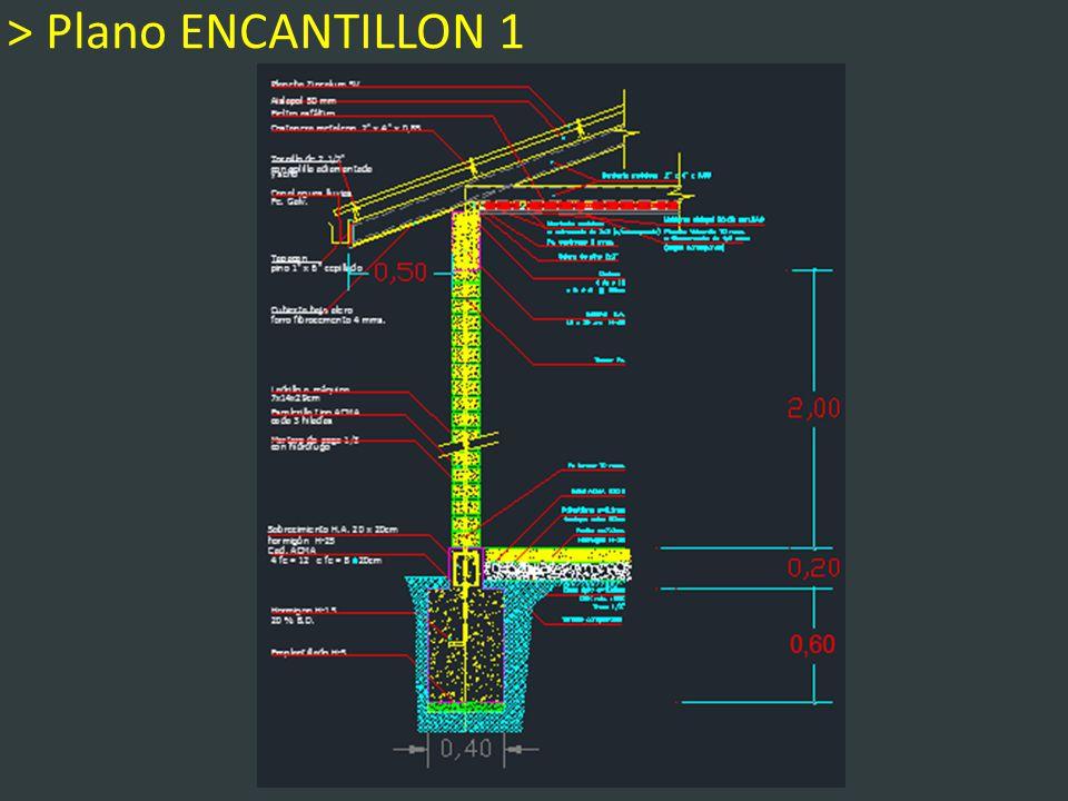 > Plano ENCANTILLON 1