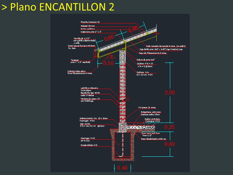 > Plano ENCANTILLON 2