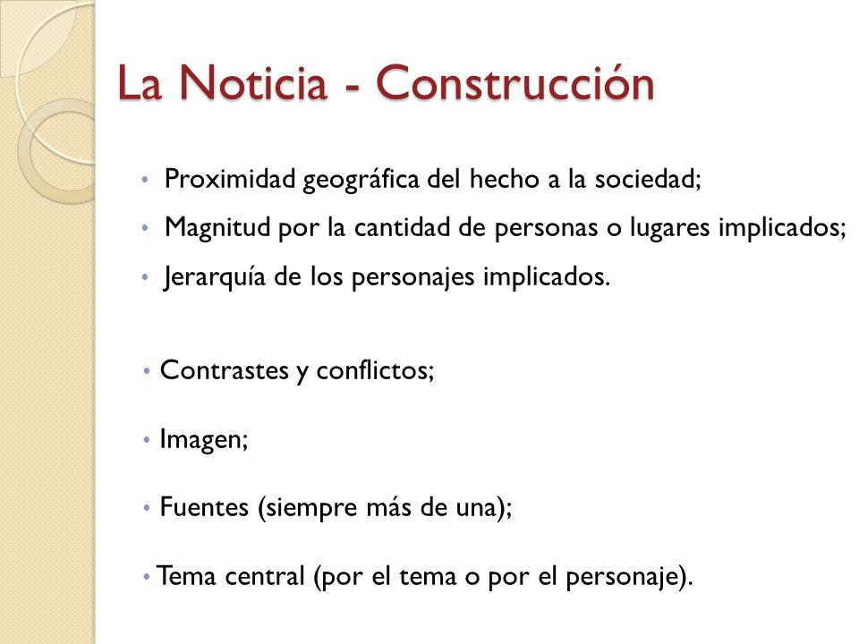 La Noticia - Construcción